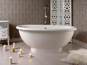Ванны из литьевого мрамора: модный тренд или необходимость?