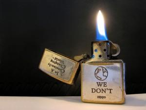 Зажигалка как подарок