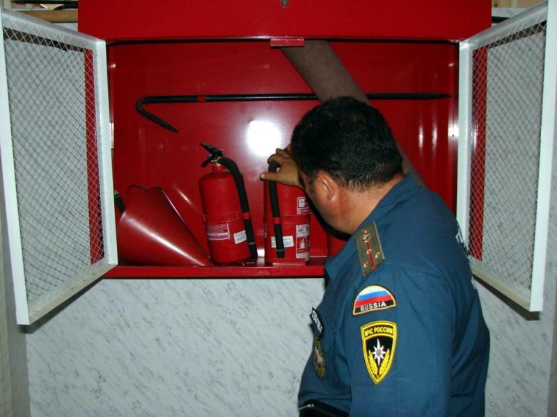 Что проверяет пожарный инспектор?