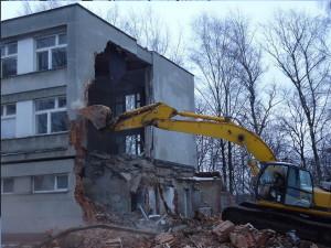 Демонтаж отделки и снос зданий