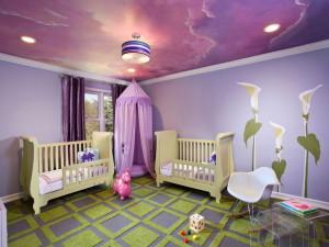 Дизайн детской комнаты - сказка, воплощенная в реальность
