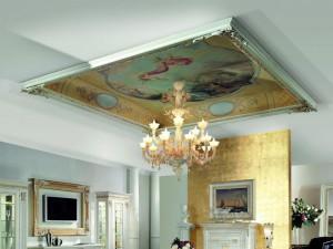 Фрески на потолок и фрески на стены