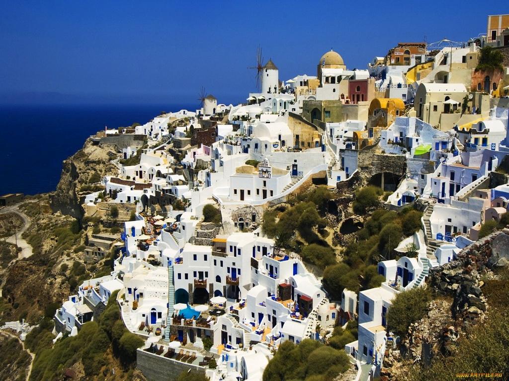 Виллы на берегу моря в греции фото