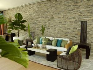 Искусственный камень в интерьере и дизайне