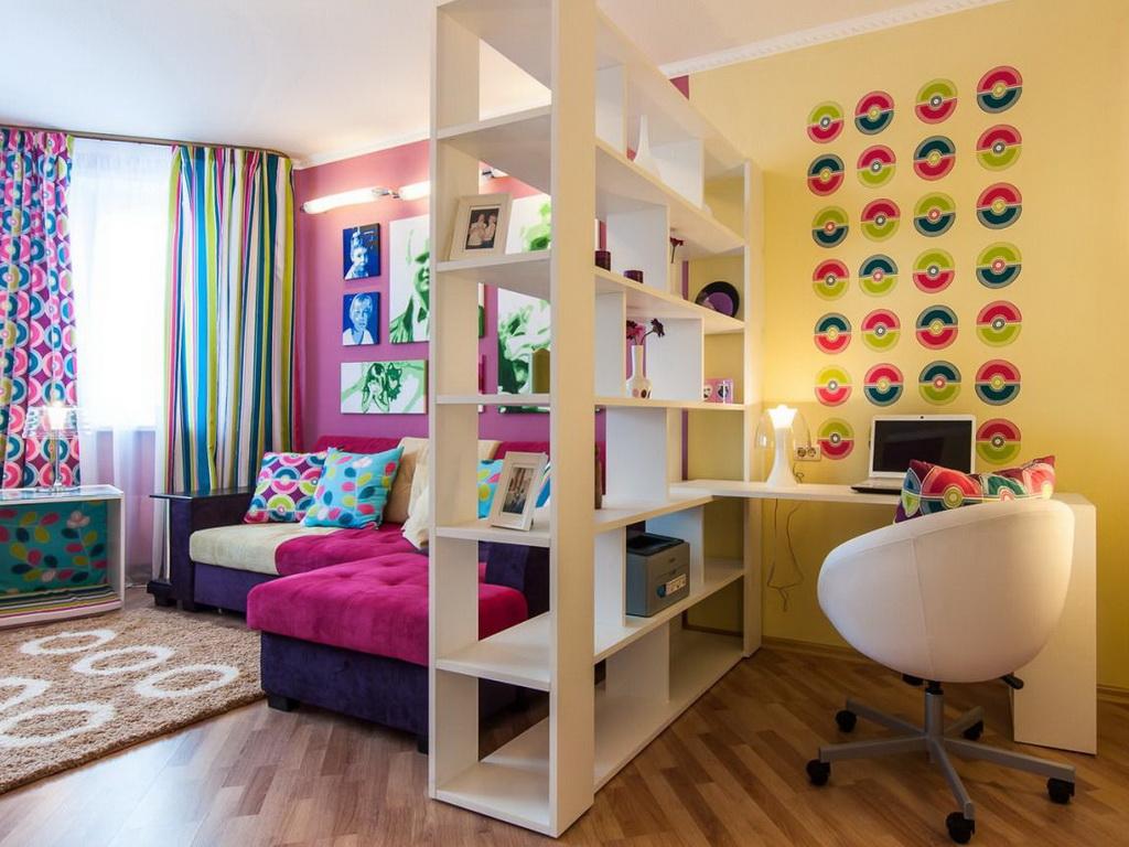 Как отделить рабочую зону в квартире