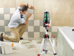 Как правильно разметить стену под укладку плитки