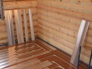 Как сделать теплый пол на деревянном полу?