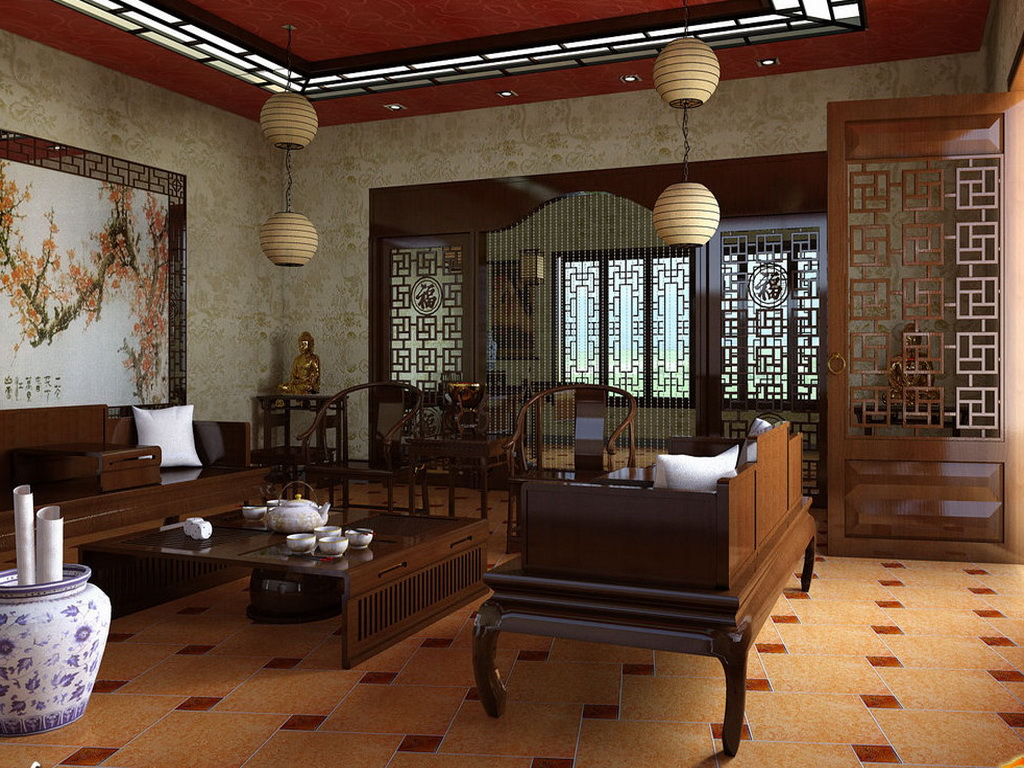 Asian style home decoration 3