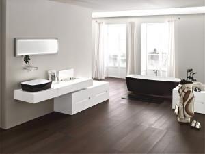 Мебель в интерьере ванной комнаты