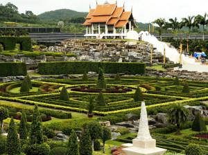 Нонг Нуч – сад поразительной красоты
