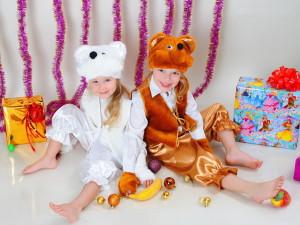 Новогодние маскарадные и карнавальные костюмы для детей
