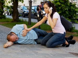 Оказание помощи при сердечной боли