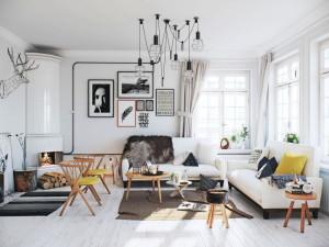 Определенные особенности для скандинавского стиля