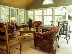 Плетеная мебель: естественно и стильно