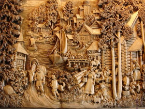 Резьба по дереву — отличный способ декоративной обработки древесины