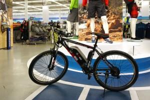 Съемный мотор для велосипеда