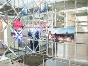 Стекольная мастерская изготавливает качественную зеркальную плитку