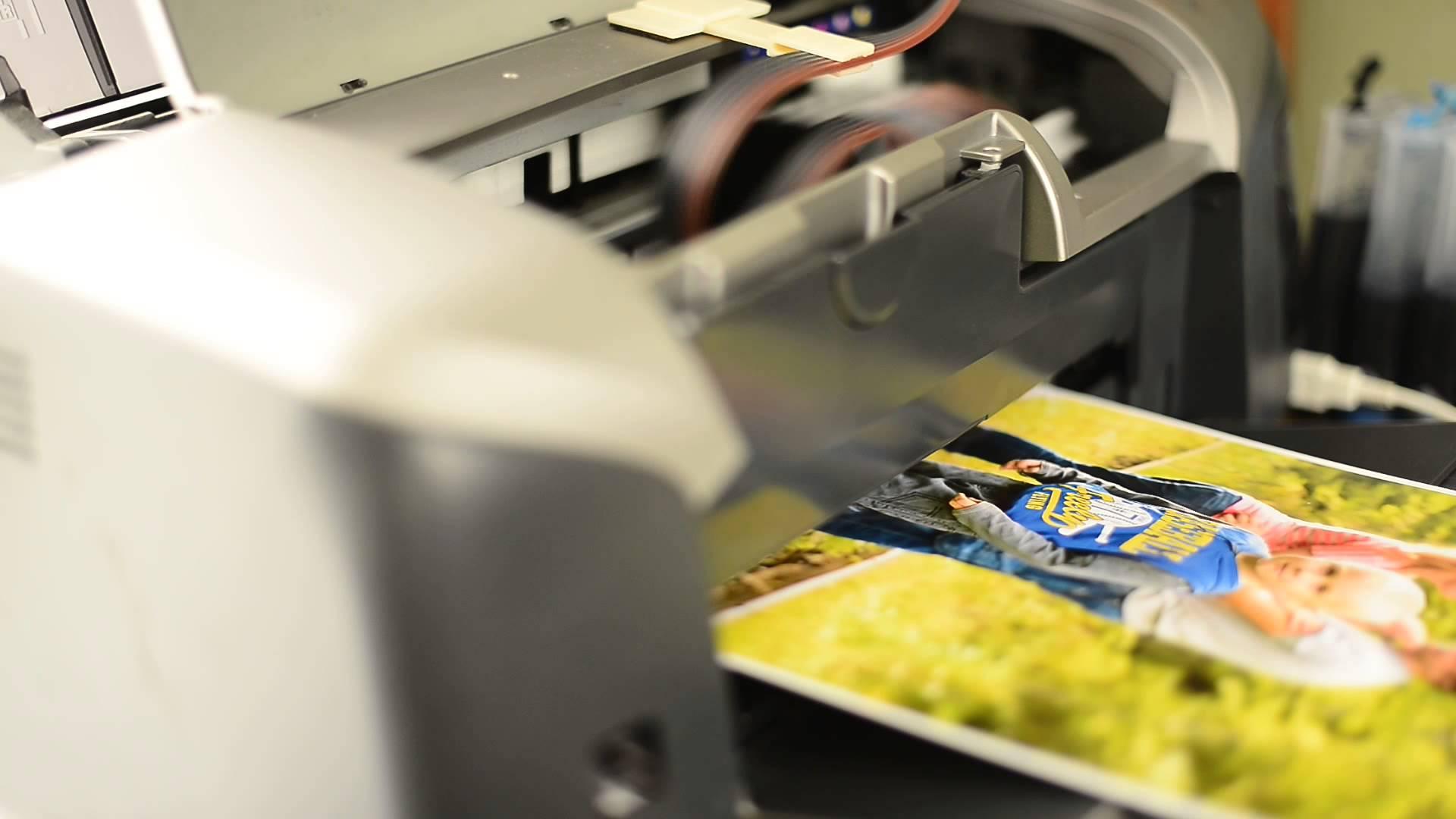 Выбираем принтер
