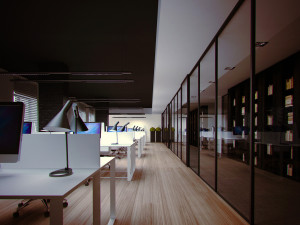 Деление офисного пространства