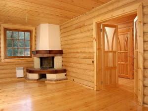 Деревянная отделка бани или загородного дома