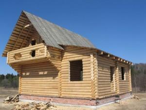 Деревянные дома вне черты города