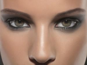 Как наносить макияж сероглазым девушкам
