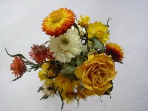 Как правильно засушить цветы и сохранить их цвет?