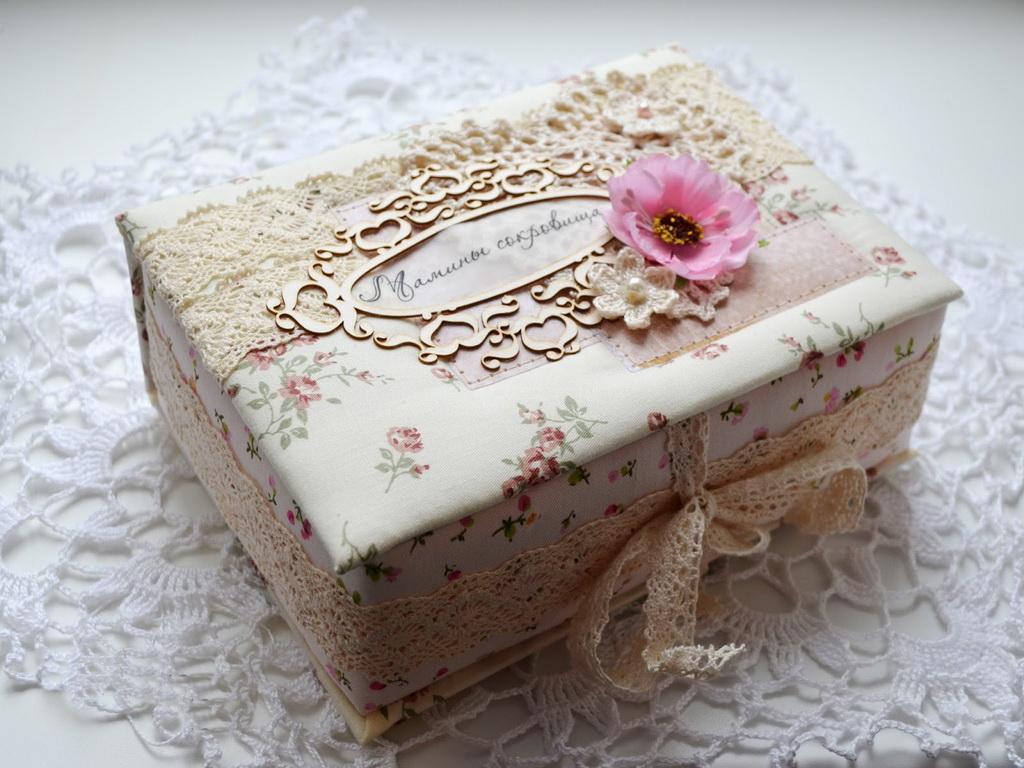Коробка своими руками мягкая