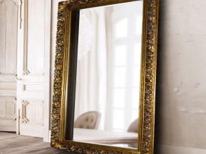 Как сделать зеркало в рамке, «под старину»