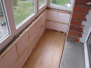 Как утеплить балкон или лоджию своими своими руками