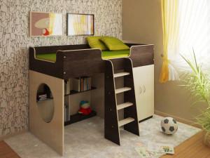 Кровать чердак. Экономия пространства