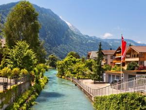 Курорты Швейцарии. Интерлакен
