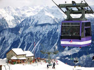 Курорты Швейцарии. Кран-Монтана