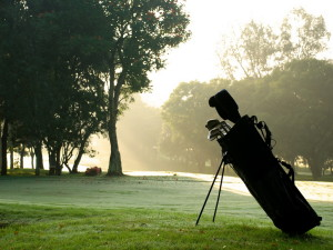 Ландшафт для игры в гольф
