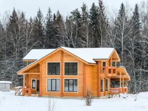 Лучший материал для деревянного дома - клееный брус!