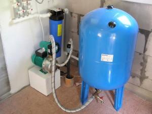 Монтаж автономной системы водоснабжения