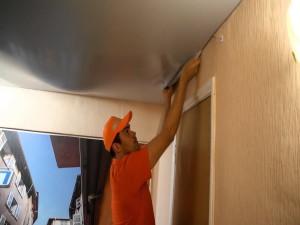 Монтаж натяжных потолков – дело без «пыли»