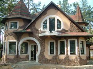 Натуральный камень в строительстве: облицовка фасада