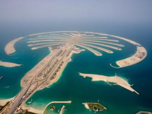 Пальмовый остров в Дубаях
