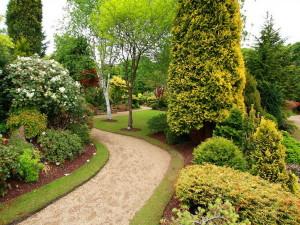 Парковый стиль при ландшафтном дизайне