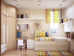 Преобразовать маленькую комнату ребенка