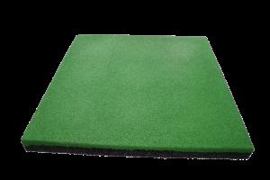 Причины использования резиновой плитки на дачных участках