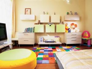 Принципы дизайна детских комнат