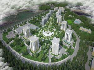 Принципы проектирования пешеходной сети на территории жилой застройки