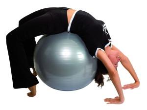Приведите свою фигуру в порядок с помощью упражнений на гимнастическом шаре