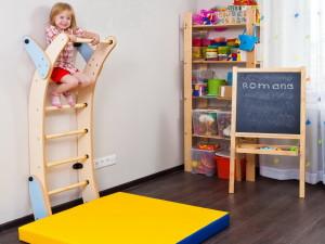 Шведская стенка для детей: преимущества