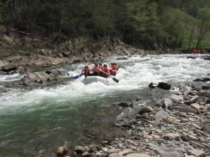Сплав по горным рекам Ивано-Франковска