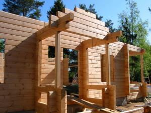 Строительство дома на загородном участке