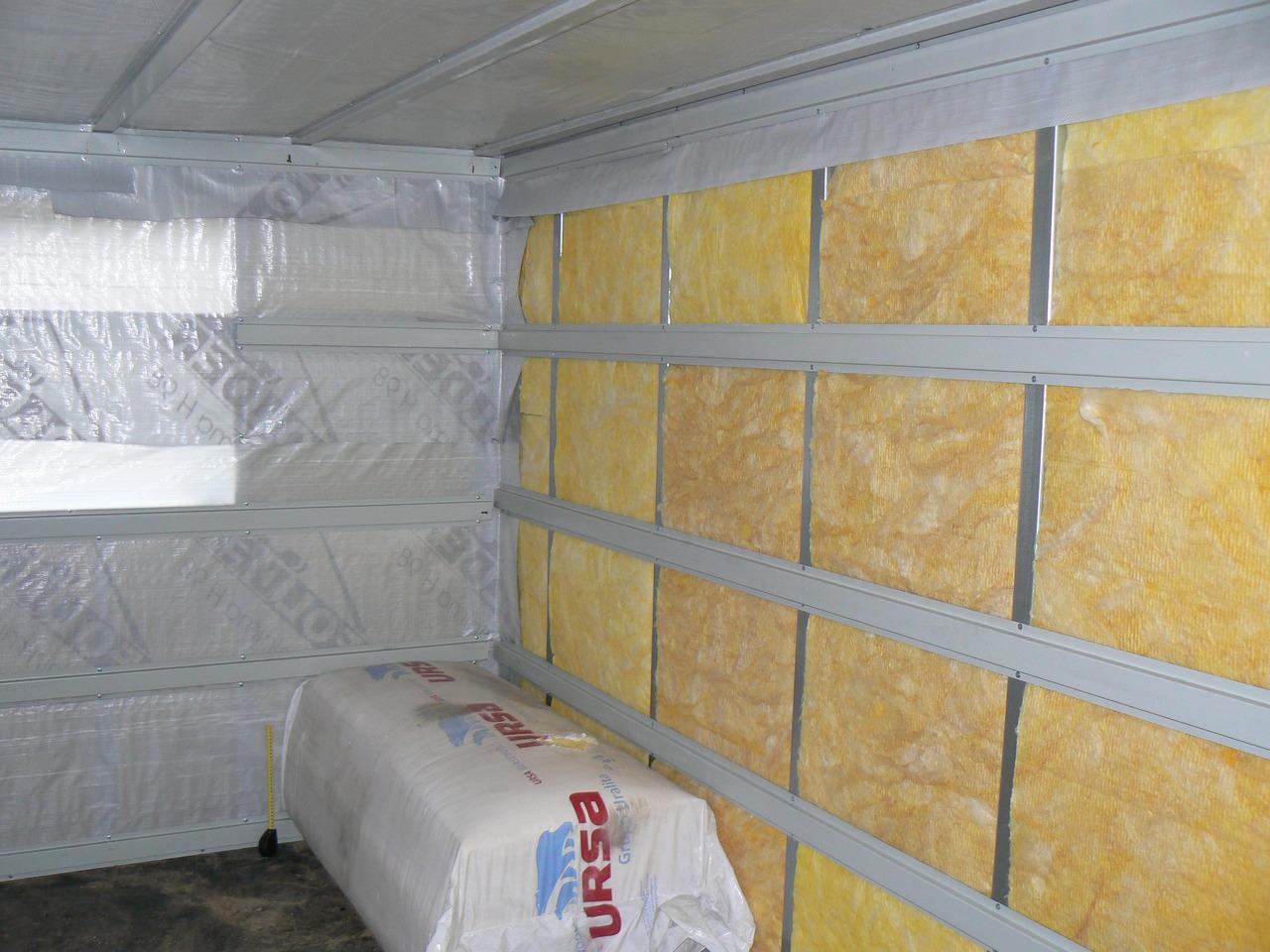 Теплоизоляция, утеплитель стен
