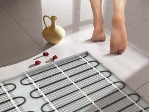 Теплые полы для обогрева ванной комнаты